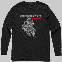 DesmoSport Ducati - On The Gas Mens Long Sleeve Tee