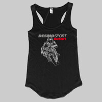 DesmoSport Ducati - On The Gas Ladies Singlet